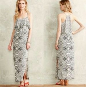 Anthropologie Talitha Maxi Dress Tiered Boho 0